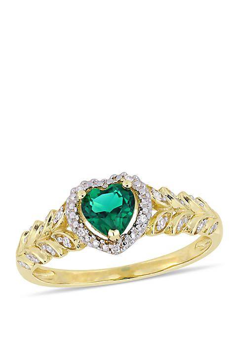 Belk & Co. 2/5 ct. t.w. Created Emerald