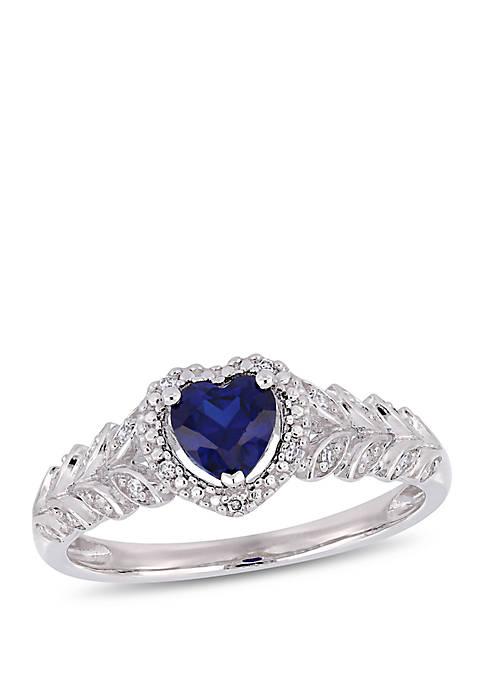 Belk & Co. 3/5 ct. t.w. Created Sapphire