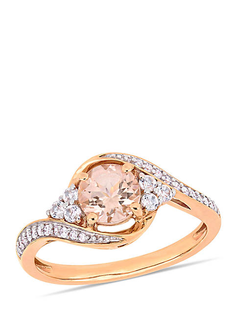 Belk & Co. 1 1/10 ct. t.w. Morganite,