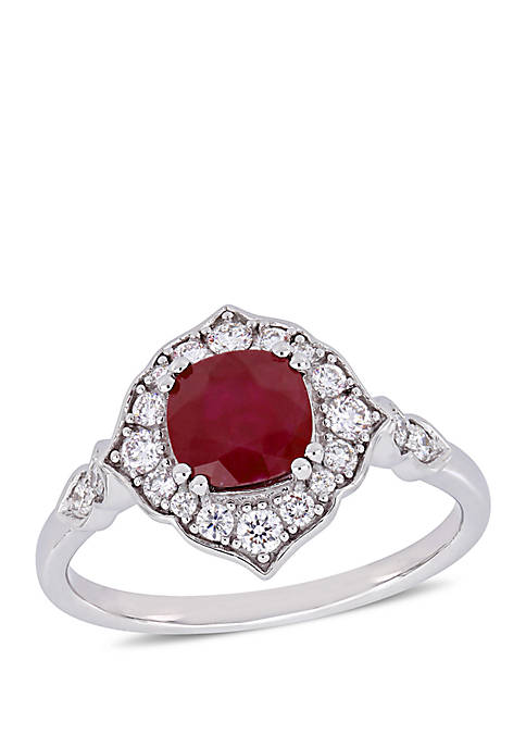 Belk & Co. 1.25 ct. t.w. Ruby and