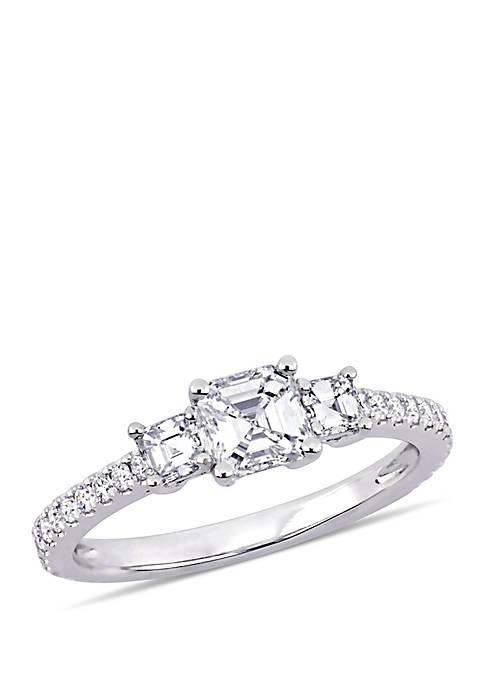 Belk & Co. 1.11 ct. t.w. Diamond 3-Stone