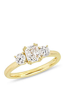 1.5 ct. t.w. Diamond Engagement Ring in 14k Yellow Gold