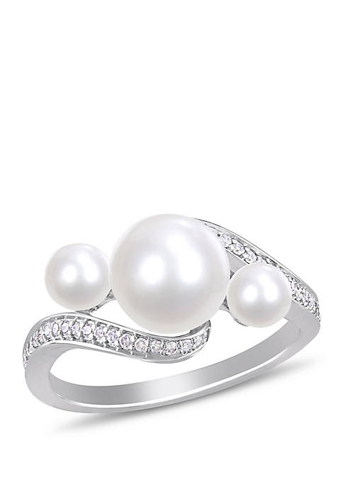 Belk & Co. Cultured Freshwater Pearl and 1/6