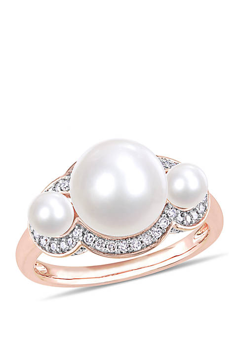 Belk & Co. Cultured Freshwater Pearl and 1/5