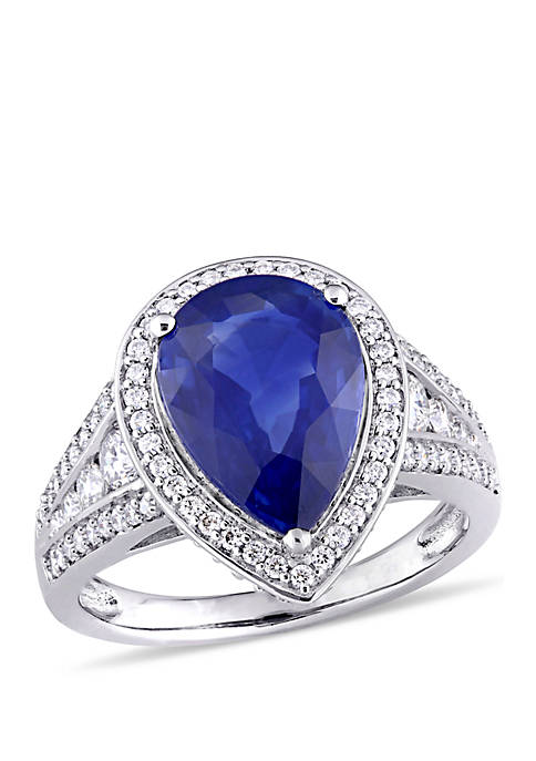 Belk & Co. 4.17 ct. t.w. Sapphire and