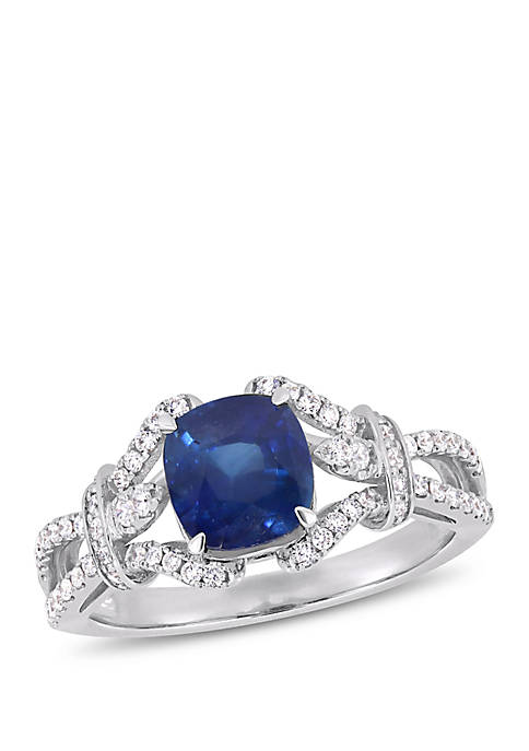 Belk & Co. 2 ct. t.w. Sapphire and