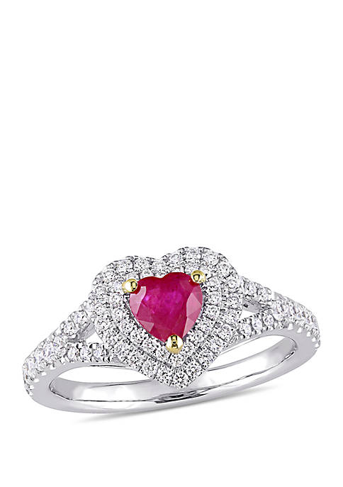 Belk & Co. 3/5 ct. t.w. Ruby and