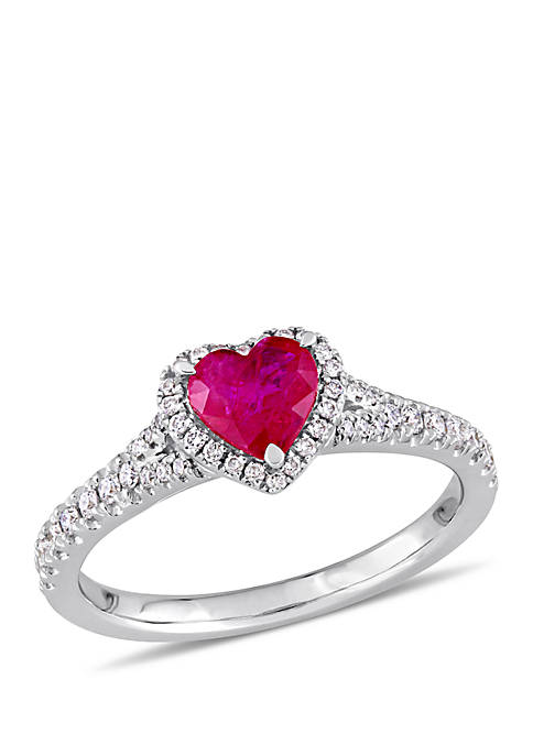 Belk & Co. 1 ct. t.w. Ruby and