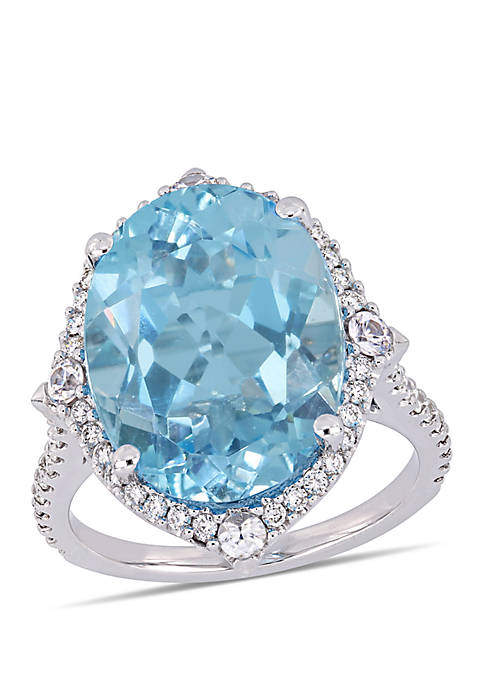 Belk & Co. 11 ct. t.w. Blue Topaz,