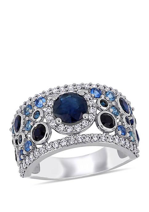 Belk & Co. 2.6 ct. t.w. Blue Sapphire