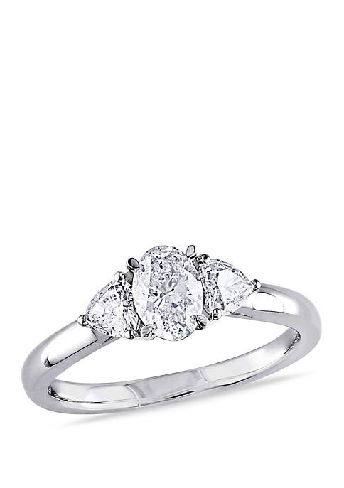 Belk & Co. 7/8 ct. t.w. Oval and