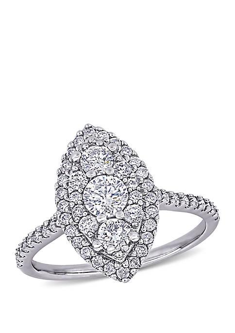 Belk & Co. 1 ct. t.w. Diamond Marquise
