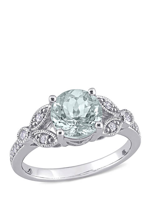 Belk & Co. 1 5/8 ct. t.w. Aquamarine