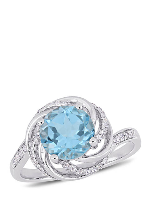 Belk & Co. 2.5 ct. t.w. Blue and