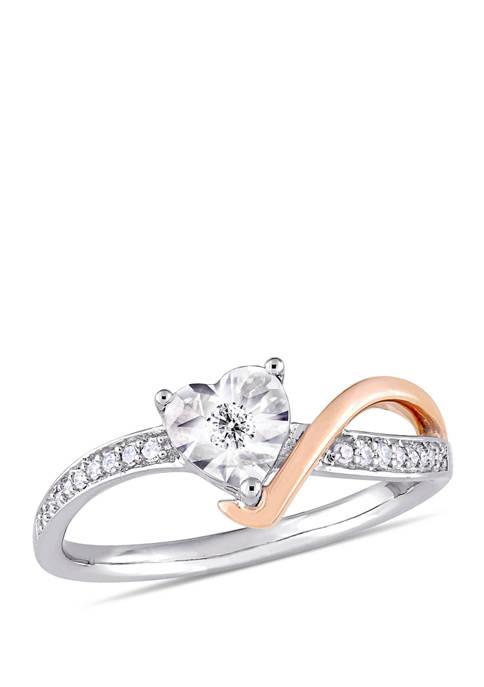 Belk & Co. 1/10 ct. t.w. Diamond Twist