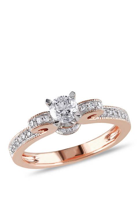 Belk & Co. 1/2 ct. t.w. Diamond Ribbon