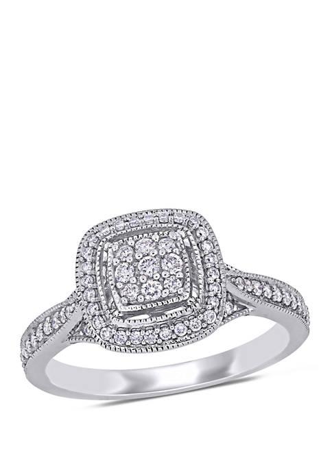 Belk & Co. 1/3 ct. t.w. Diamond Cluster