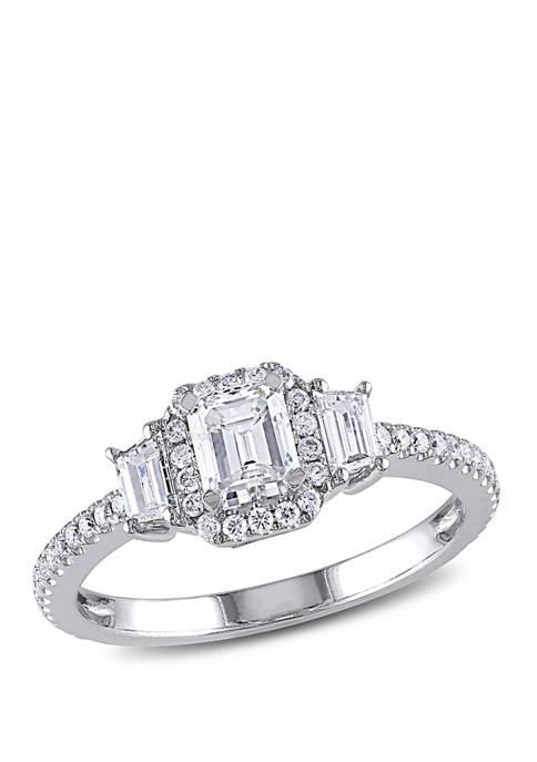 Belk & Co. 1 ct. t.w. Diamond Emerald