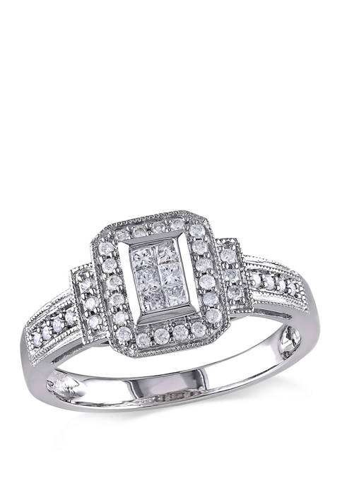 Belk & Co. 1/3 ct. t.w. Diamond Princess