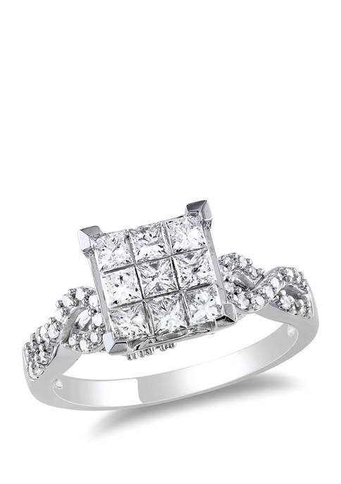 Belk & Co. 1 ct. t.w. Diamond Princess