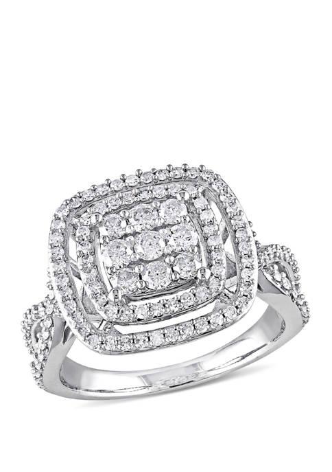 Belk & Co. 1 ct. t.w. Diamond Double