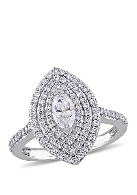 Belk & Co. 1 ct. t.w. Diamond Marquise
