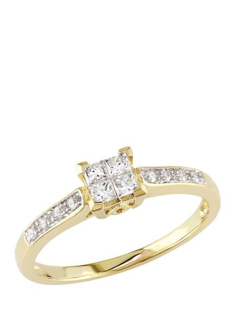 Belk & Co. 1/4 ct. t.w. Diamond Princess