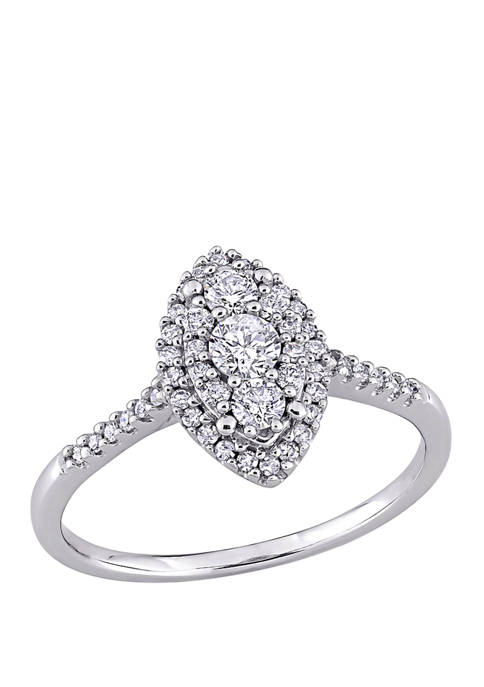 Belk & Co. 1/2 ct. t.w. Diamond Composite