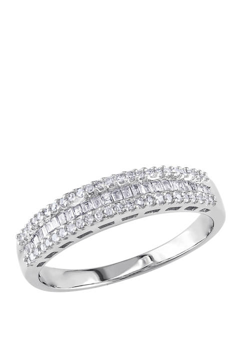 Belk & Co. 1/3 ct. t.w. Baguette and
