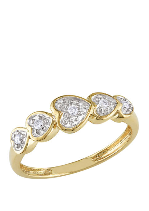 Belk & Co. 1/10 ct. t.w. Diamond Accent