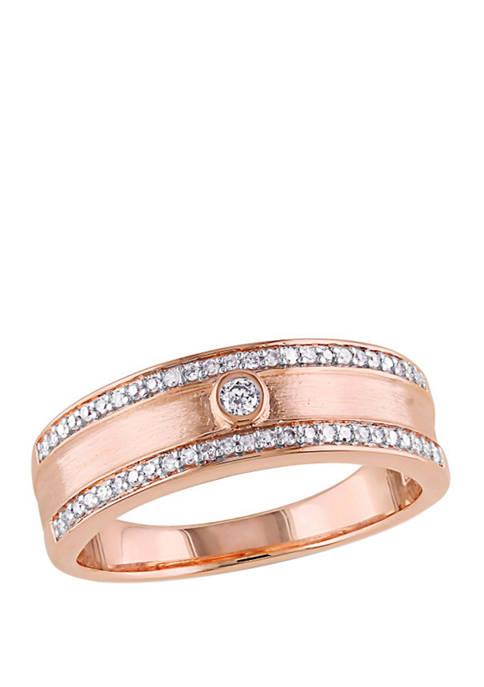 Belk & Co. Diamond Ring in 10K Rose