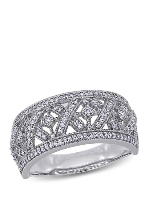 Belk & Co. Diamond Filigree Ring in 10K
