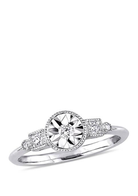 Belk & Co. Diamond Promise Ring in 10k