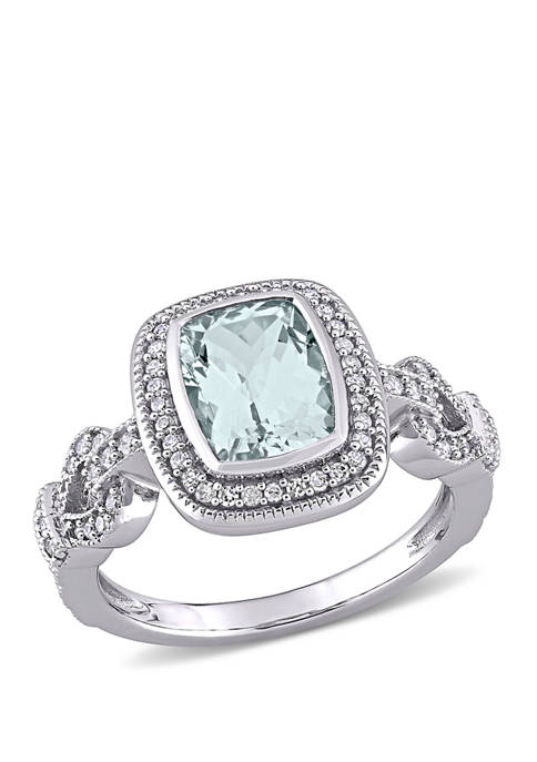 Belk & Co. 2 ct. t.w. Aquamarine and