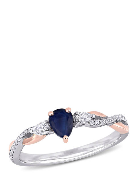 Belk & Co. 3/8 ct. t.w. Sapphire and