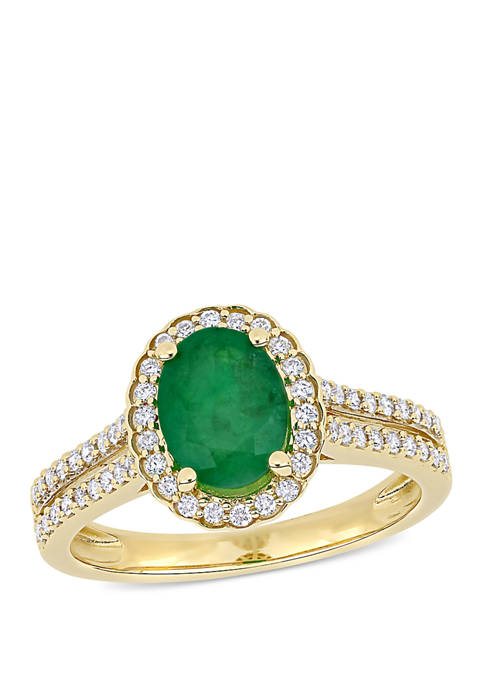 Belk & Co. 1.2 ct. t.w. Emerald and
