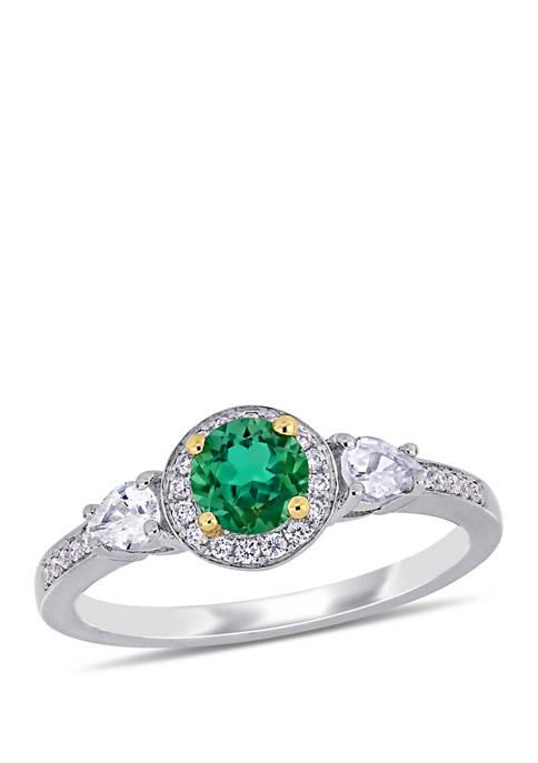 Belk & Co. 2/5 ct. t.w. Emerald, 1/3