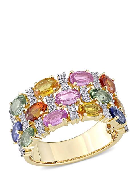 Belk & Co. 4.33 ct. t.w. Multi-Color Sapphire