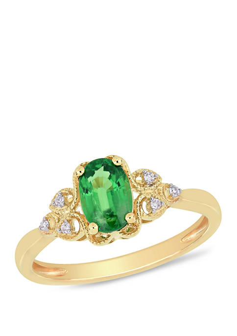 Belk & Co. 1 ct. t.w. Tsavorite and