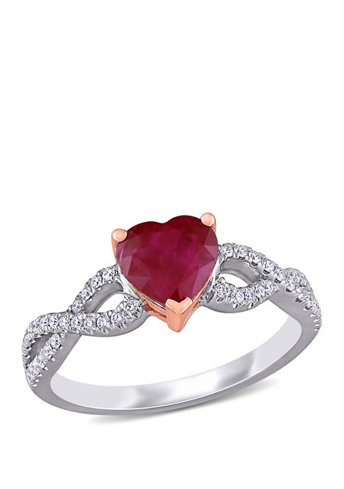 Belk & Co. 1.75 ct. t.w. Ruby and