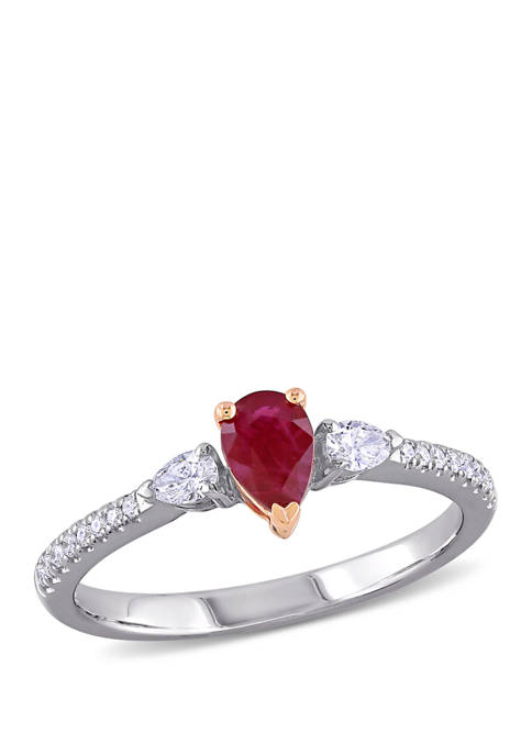 Belk & Co. 2/5 ct. t.w. Ruby and
