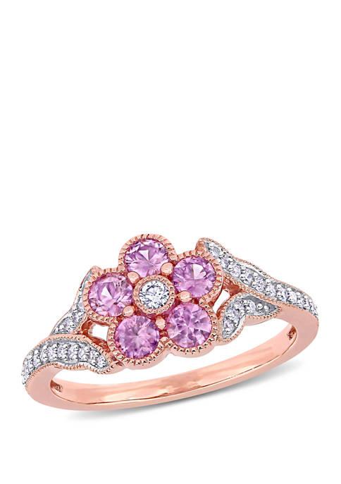 Belk & Co. 3/4 ct. t.w. Pink Sapphire