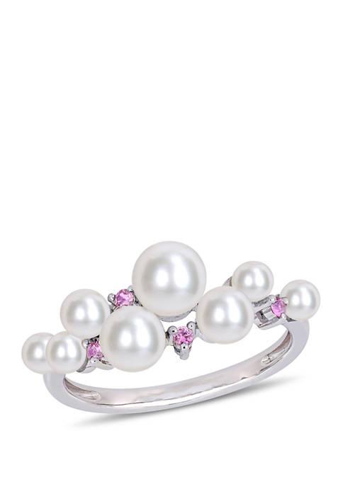 Belk & Co. 1/10 ct. t.w. Pink Sapphire