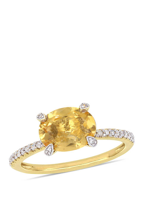 Belk & Co. 1.63 ct. t.w. Citrine and