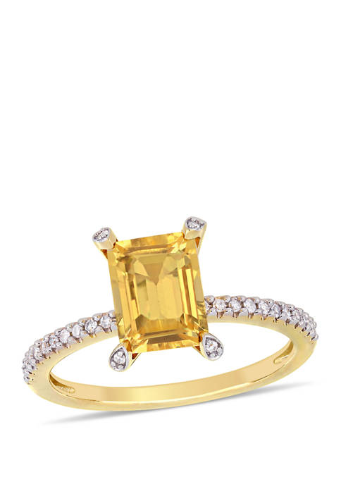 Belk & Co. 1.5 ct. t.w. Citrine and