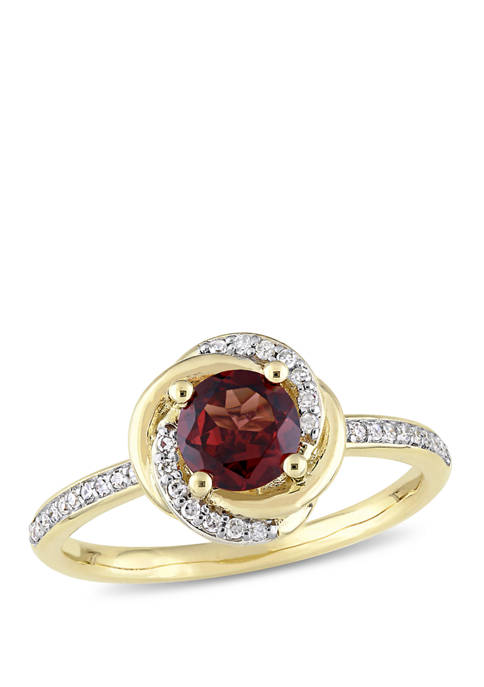 Belk & Co. 1 ct. t.w. Garnet and