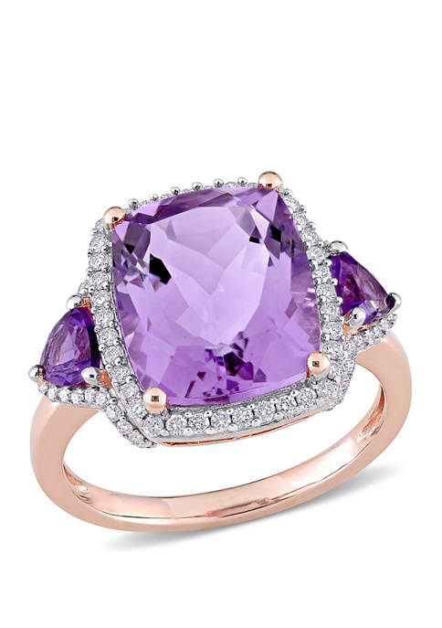 Belk & Co. 5.4 ct. t.w. Amethyst and