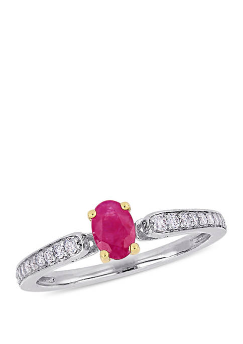 Belk & Co. 5/8 ct. t.w. Ruby and