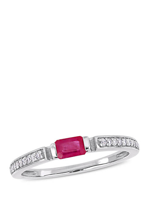 Belk & Co. 3/8 ct. t.w. Ruby and