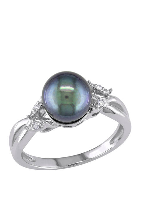 Belk & Co. Black Cultured Freshwater Pearl and